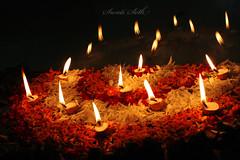 The festival of Lights is here (Swati Seth) Tags: flowers india festival lights celebration diwali rangoli rhapsody diyas oillamps dfc thepca swatiseth canon450d