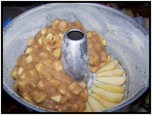 torta carameliza de pera y manzana 5