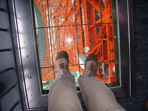 ガラスの床@東京タワー
