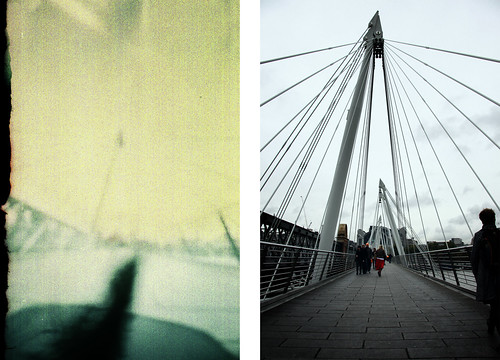 Jubilee Bridge - Pinhole Vs Digital