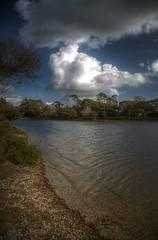 Hatchet Pond, New Forest (roth_n_roll) Tags: new england forest lens pond pentax gimp super hampshire filter handheld kit 1855mm hdr circular hatchet hoya photomatix polarising k100d