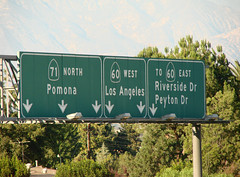 Sign Gantry @ 60+71 (mike_s_etc) Tags: road sign highway 71 freeway 60 sr71 gantry sr60 stateroute pomonafreeway chinovalleyfreeway signgantry