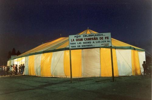 Tent Crusade in San Pedro