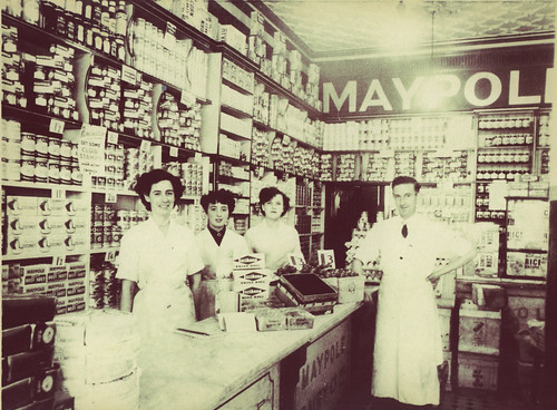 Shop Workers, Maypole Dairy, 1950s