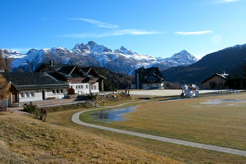 Olympic Curling Rink, St Moritz