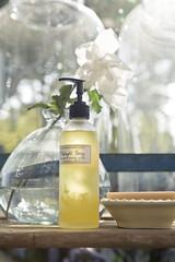 midnight honey (helveticaneue) Tags: terrain sun flower glass soap nursery packaging job 2009 gardenia terrainatstyers farmaesthetics