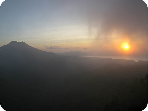 sunrise Gunung Batur, Bali