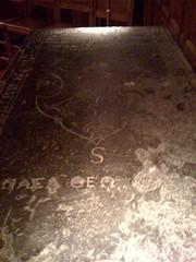 Peter Udny's Grave Slab