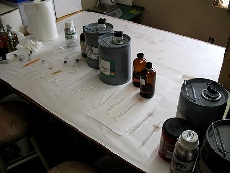 Testing Essential OIl Blends