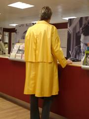 DSC01617 (Silver Linings) Tags: mac rubber raincoat rainwear rubberised