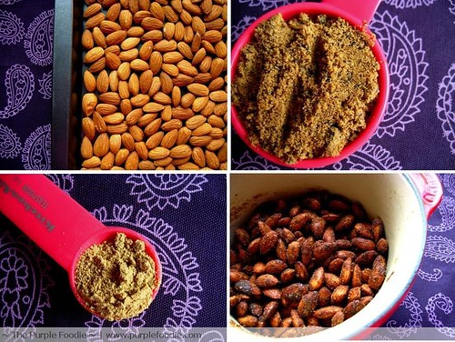 Honey and Ginger Roasted Almonds