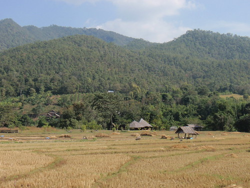 The countryside around of Pai