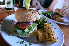 venison burger, Timbre