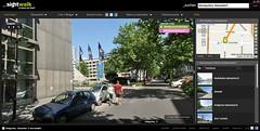 Screenshot sightwalk.de
