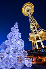 Christmas In Seattle (~ Aaron Reed ~) Tags: seattle christmas blue holiday reed nature night oregon canon landscape photography washington glow aaron photographyclass perspective photographers christmastree christmaslights stockphotos pacificnorthwest spaceneedle bluehour sunrisesunset gitzo stockimages digitalphotography naturephotography reallyrightstuff professionalphotography pacifcnorthwest blackwhitephotography landscapephotography seattlewashington photographyschool beautifullandscape nohdr singhray outdoorphotographer aaronreed leefilters landscapephotographer neutraldensityfilters washingtonphotographer photographytraining pacificnorthwestphotography framedartprints colorfulpictures thinktankphoto singhrayfilters aaronreedphotography oregonphotography oregonphotographer canon5dmk2 washingtonphotography exposurenorthwest paciifcnorthwest aaronreedoutdoorphotographer aaronreedlandscapephotographer aaronreedphotographer landscapephotographygallery whatislandscapephotography whatisstockphotography aaronreedart aaronreedprints aaronreednature aaronreedaluminumartprints aaronreedmetalprints aaronreedacrylicface