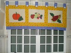 Banda FRUTAS (Artesanato Menina Sapeca By Paty Pacheco) Tags: Frutas patchwork decorao Cozinha banda patchcolagem