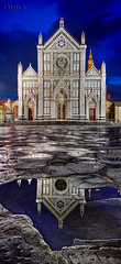 Iglesia de la Santa Cruz, Florencia / Church of the Santa Croce. Florence. Italy (dleiva) Tags: santa plaza color blanco horizontal del de persona la florence arquitectura europa italia exterior gente iglesia ciudad personas chiesa ciudades viajes cruz lugares plazas templos florencia di firenze iglesias toscana turismo da fachada mundo templo croce turistas turista exteriores fachadas gtica soleado gtico diurno