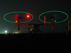 Deployment pic: MV-22 Osprey in Christmas colors:-) (baltic_86 (mostly off)) Tags: usmc marine military explore iq deployment ussbataan instantfave mv22osprey 22ndmeu 5thfleetaor vmm263 photosexplore campbuehringkuwait 100commentgroup baltic86 saariysqualitypictures mymarinessonpic marinemediumtiltrotorsquadron semperfidelissemperfi thekuwaitidesert oparationenduringfreedom