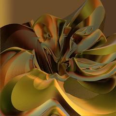 Whispering Gold (freetoglow (Gloria)) Tags: fractal visualart incendia wowiekazowie eyecandyart krazeekool awardtree colourmania