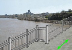New Pat Jones Pedestrian/Bicycle Lane across the Missouri River