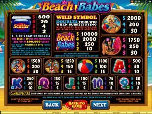 free Beach Babes slot mini symbol