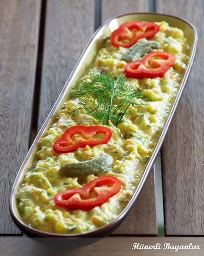Yoğurtlu Patatesli Salata