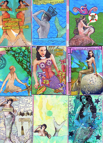 Mermaid Mix ATCs