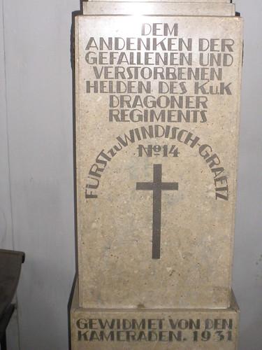 """(Böhmisches Dragoner-Regiment """"Fürst zu. Windisch-Graetz"""" Nr. 14)"""