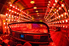 Feel the heat! (CodyWDWfan) Tags: world test orlando epcot track florida sony sigma center disney fisheye disneyworld future heat chamber wdw waltdisneyworld walt epcotcenter f28 testtrack futureworld 10mm a700 sonya700 dslra700 sonydslra700 heatchamber sigma50th
