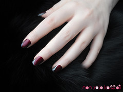 Big Bad Wolf - Dangerous Nails (non solo Kawaii) Tags: red black fairytale dark grey wolf grigio hand nail gothic polish nails mano manicure bigbadwolf rosso nero tale redridinghood fable nailart lupo perrault gotico opi favola unghie smalto fiaba cappuccettorosso artigli lupocattivo bastillemyheart dangerousnails nonsolokawaii lucernetainlylookmarvelous angelachiappa lauracastellanza