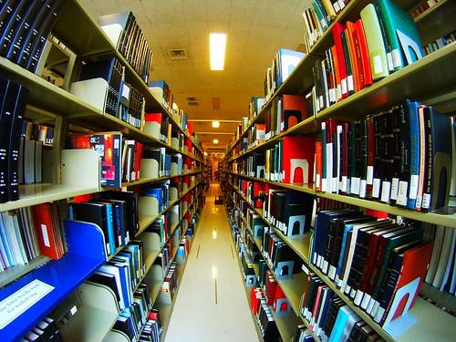 ワシントン大学の書架