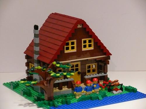 Log Cabin 3X