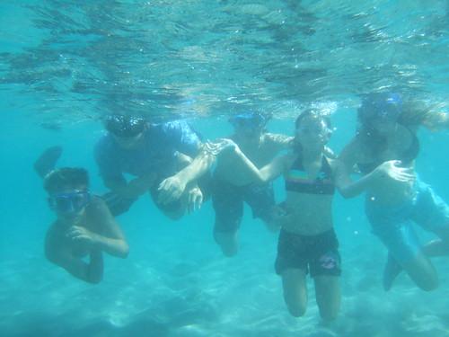 5 underwater