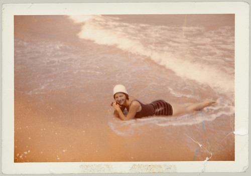 Girl in Surf