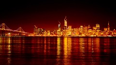 San Francisco Sky Line (slim studios) Tags: nikond3100 sigma1850f28 usa cityscape skyline