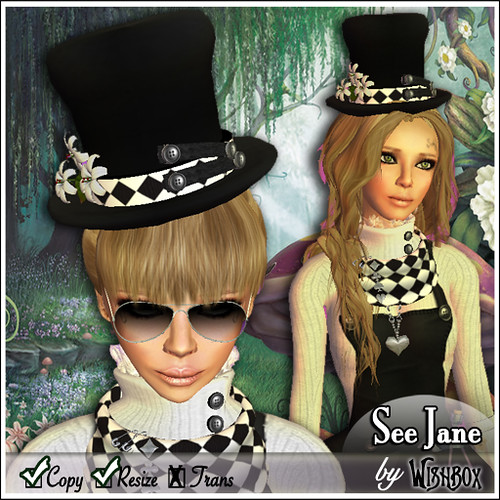 See Jane - Top hat