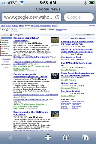 Google News for iPhone Changing?