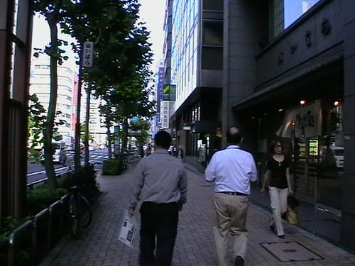 Tokyo Jalan2-laju tul jalan Mr Utamura ni