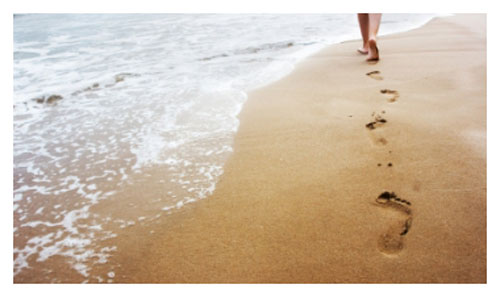 Andar descalzo por la playa no es (del todo) bueno. 3709435747_866e0e4fa1