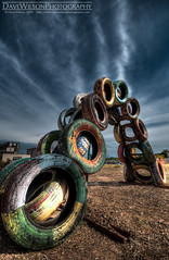 Tire Sculpture, Austin