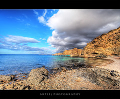Make Way For the Clouds | Second Valley, South Australia :: HDR (Artie | Photography :: I'm a lazy boy :)) Tags: sea summer sky storm beach water clouds photoshop canon dark sand rocks cs2 jetty tripod australia wideangle explore shore adelaide 1020mm southaustralia frontpage hdr clearwater artie 3xp sigmalens photomatix tonemapping tonemap secondvalley 400d rebelxti raste