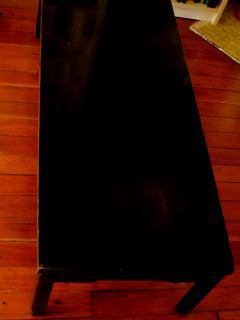Vintage coffee table $30