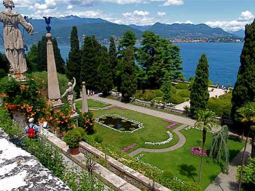Palazzo Barromeo - Lake Maggiore, Italy por waynedunlap.