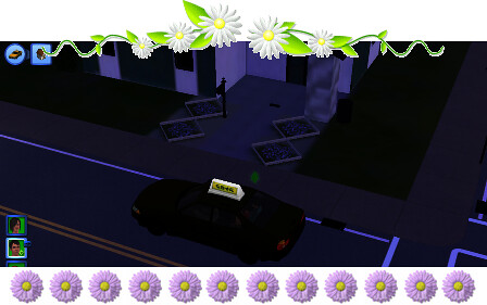 taxi the sims