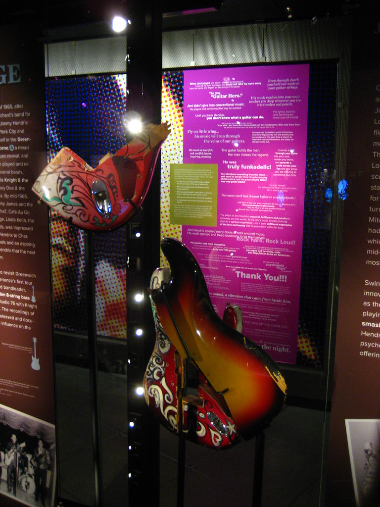 Piece of the Monterey Stratocaster