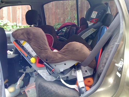 Uber Newark Car Seats