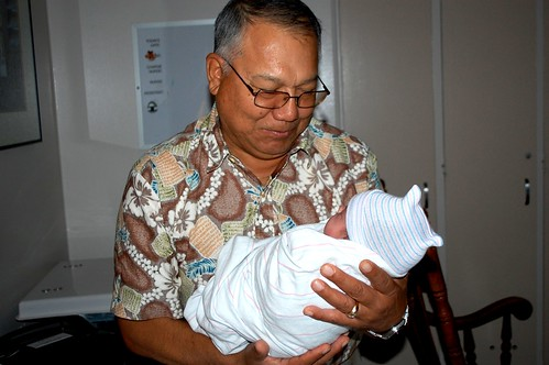 meeting Grandpa Robert