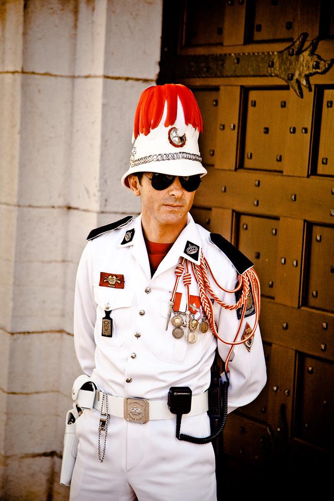 Grimaldi Palace Guard