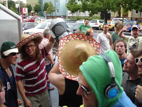 Flashmob Kaufland Ilmenau