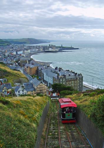 Cliff Railway and Aberystwyth